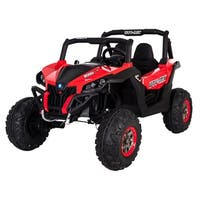 12 Volt Wild Cross Two Seater Car - Red