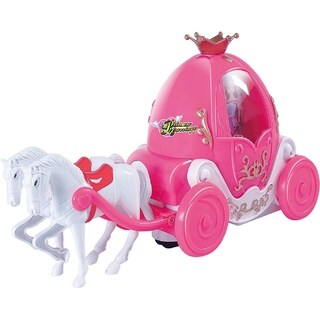 Bubble Blowing Princess Carriage