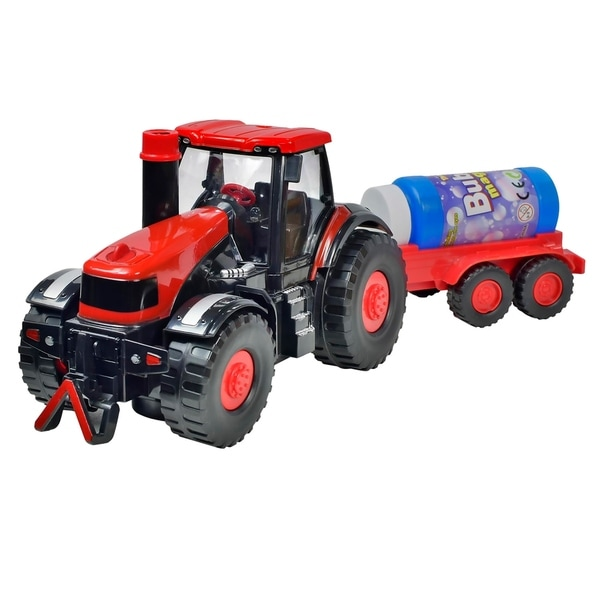 Bubble Blowing Tractor. Opens flyout.