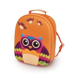 3D Owl Easy Backpack - Orange