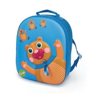 3D Bear Easy Backpack - Blue