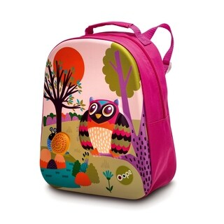 3D Happy Soft Backpack - Owl