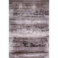 Concord Global Thema Distressed Brown Area Rug - 6' 7 x 9' 3