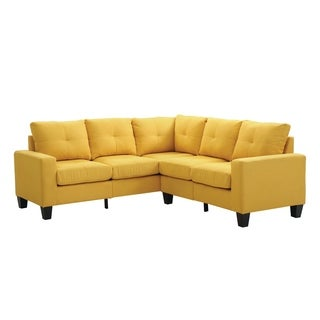 Lyke Home Yellow Twill Sectinal