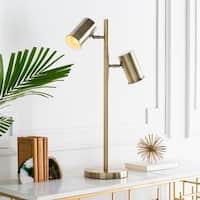 Holme 27.5 in. Brass Modern Table Lamp