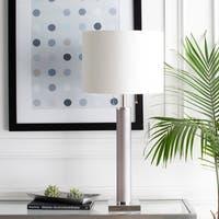 Lorenzi 33 in. Gray Modern Table Lamp