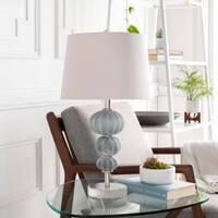 Wehner 23 in. Aqua Modern Table Lamp