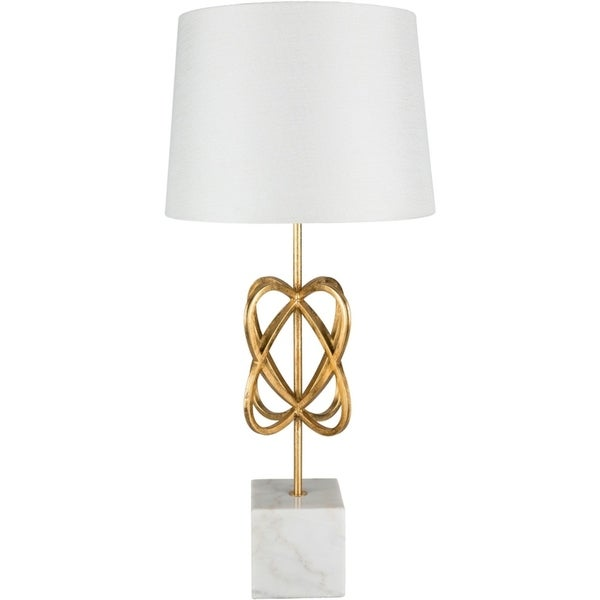 Celli 30.75 in. Gold Updated Traditional Table Lamp