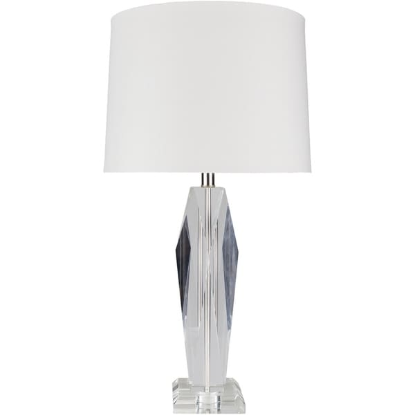 Bramer 30 in. Clear Updated Traditional Table Lamp