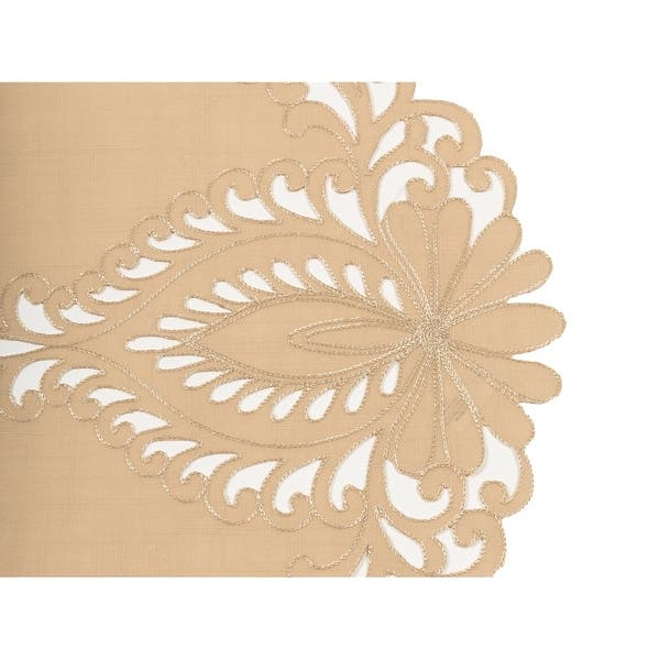 Shop Wilshire Embroidered Cutwork Table Runner 16 By 36