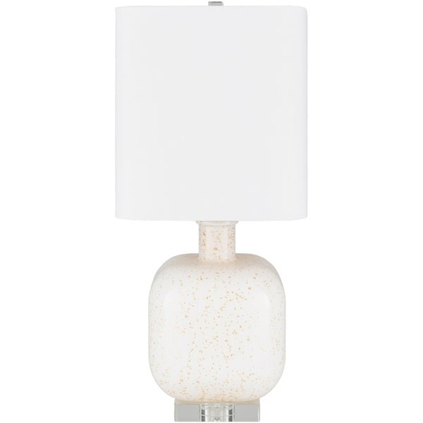 Burgess 23 in. Off-White Transitional Table Lamp