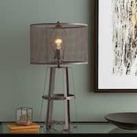 Kalu 28.25 in. Rust Modern Table Lamp
