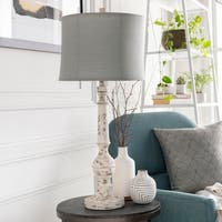 Ory 35 in. White Traditional Table Lamp