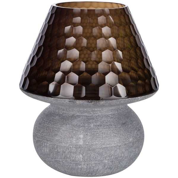 Augusto 12.5 in. Black Modern Table Lamp