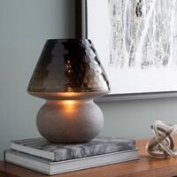 Augusto 12.5 in. Black Modern Table Lamp