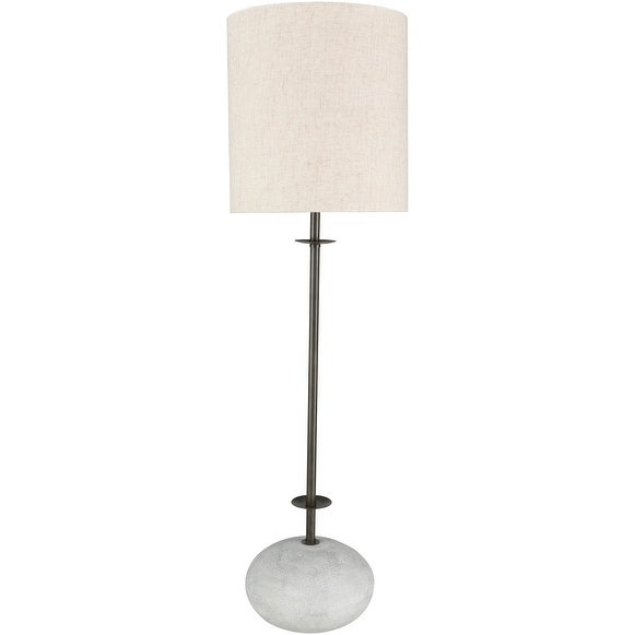 Stareley 32 in. Ivory Transitional Table Lamp