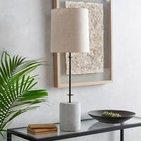 Grigg 34.25 in. Ivory Transitional Table Lamp