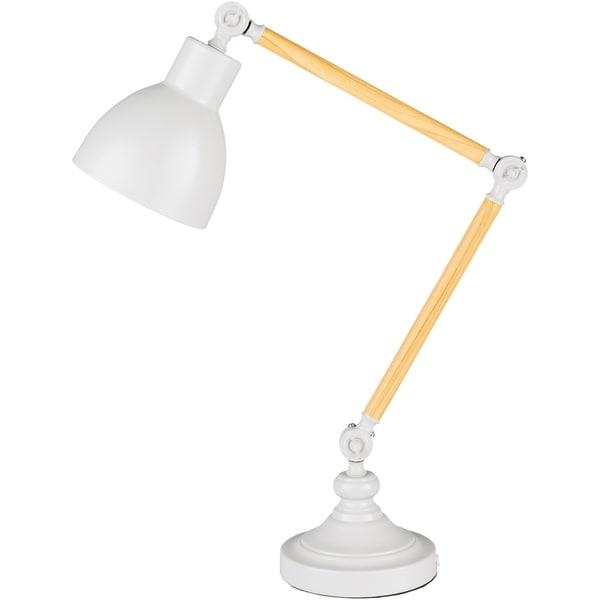 Seton 24.5 in. Off-White Modern Table Lamp