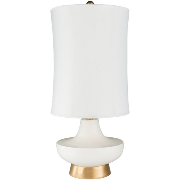 Vosloo 26.5 in. White Updated Traditional Table Lamp