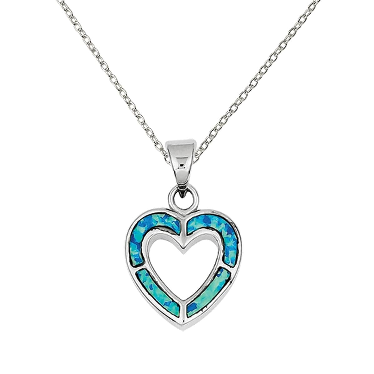 Trillion Jewels Love Mom in Heart Diamond 0.08 ct Pendant with Chain in 925 Sterling Silver