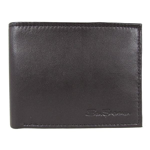 Ben Sherman Mens Kensington Collection 16005C Leather Passcase Wallet, Black. Opens flyout.