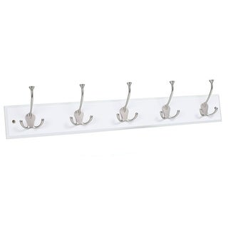 BirdRock Home Tri Hook Coat Rack