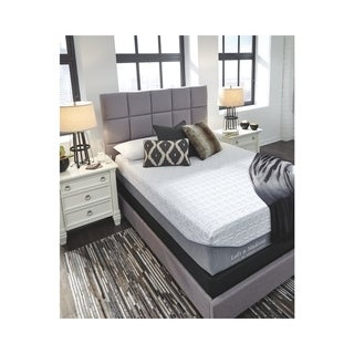 Signature Design by Ashley Loft and Madison 13 Firm Queen 13 inch White Mattress with MemGel