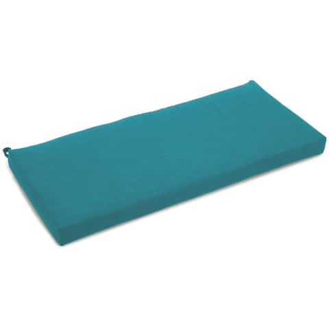Blazing Needles 40-inch Solid All-Weather Bench Cushion