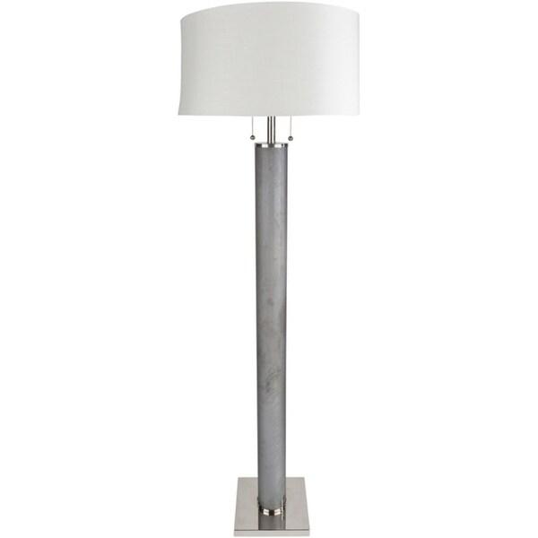 Arvina 66.5 in. Grey Modern Floor Lamp