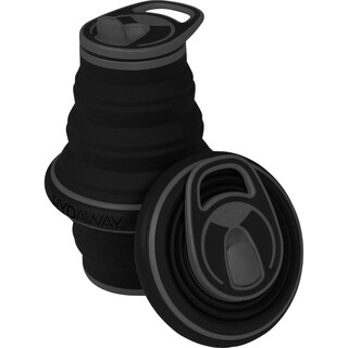 HYDAWAY 21-ounce Collapsible Water Bottle Midnight