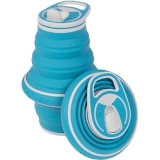 HYDAWAY 21-ounce Collapsible Water Bottle Bluebird