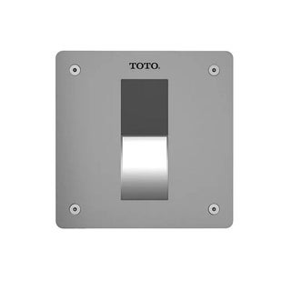 """Toto EcoPower High-Efficiency Concealed Urinal Flush Valve 4""""x4"""" - 0.5 GPF TEU3LA11#SS Stainless Steel"""