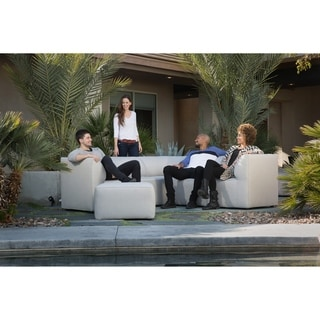 Big Joe Orahh Modular Outdoor Sectional, 6 Piece