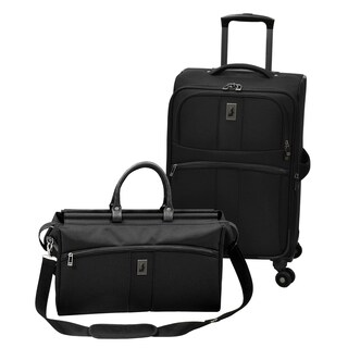 London Fog Wellington 2-Piece Spinner Luggage Set