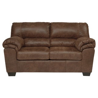 Signature Design by Ashley, Bladen Contemporary Coffee Brown Loveseat