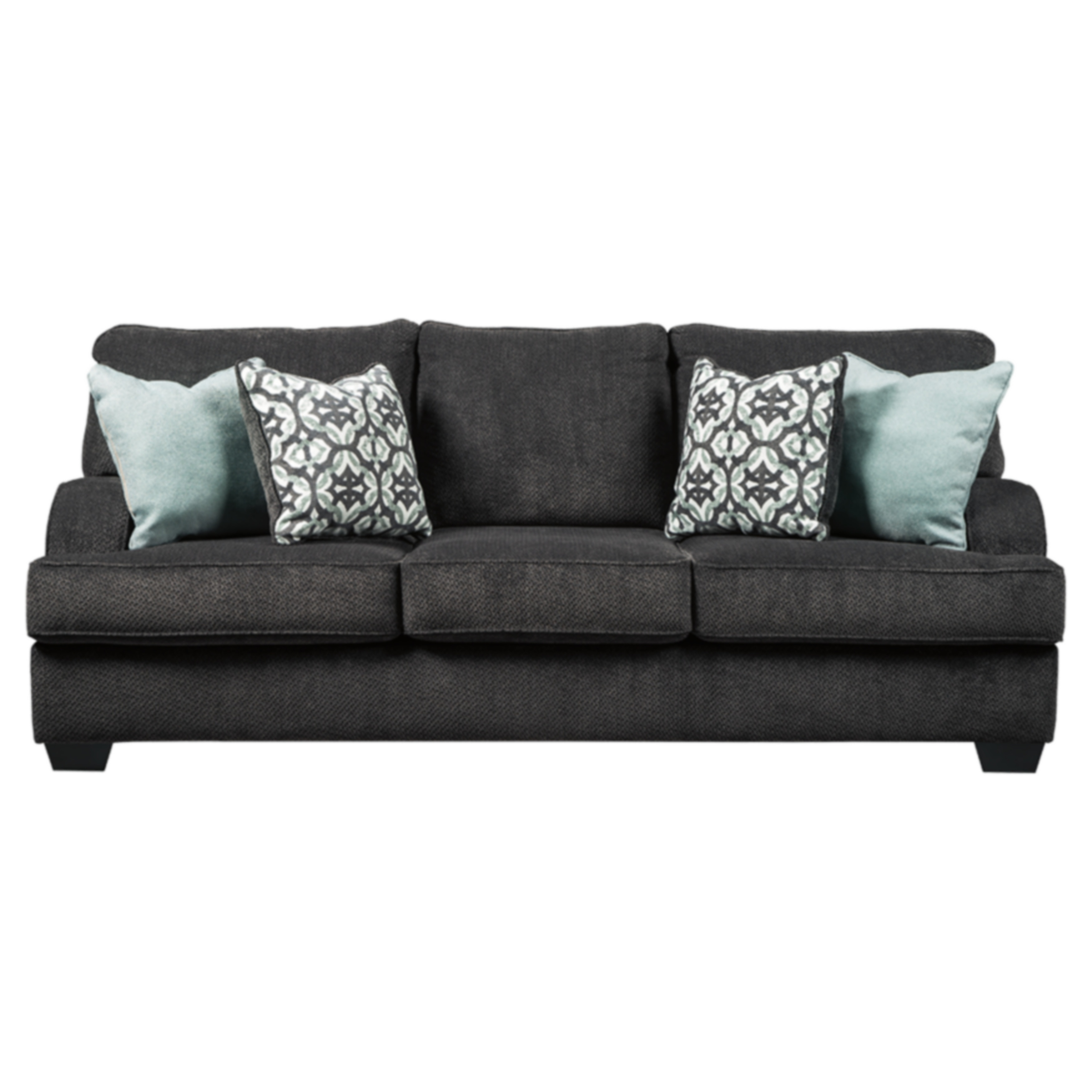 Signature Design by Ashely Charenton Charcoal Contemporary Sofa