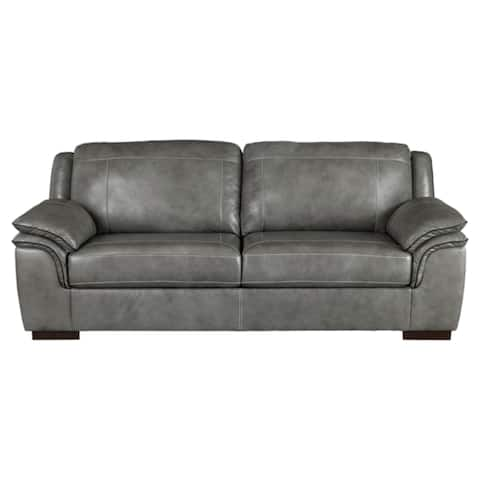 Signature Design by Ashley, Islebrook Contemporary Iron Gray Sofa