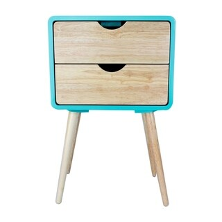 Euro 2-Drawer End Table