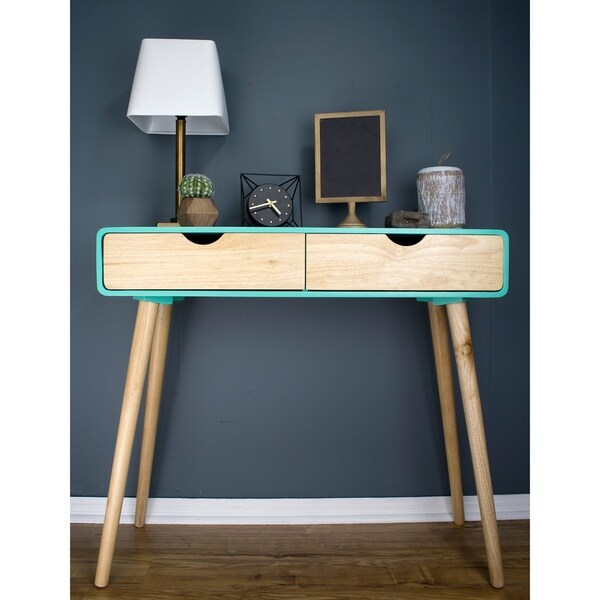 Euro 2-Drawer Console Table