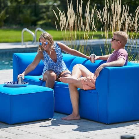Big Joe Mobilitë 4 piece Sectional, Indoor/Outdoor