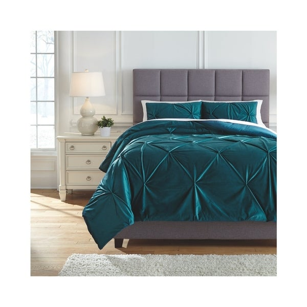 Shop Signature Design By Ashley Meily Comforter Set Free Shipping