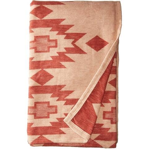 Pendleton Yuma Star Clay Twin XL Blanket