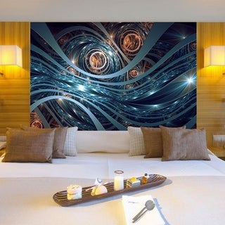 """Space Universe Full Color Wall Decal Sticker AN-351 FRST Size46""""x56"""""""