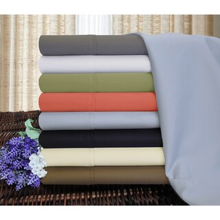 Link to Superior 1200 Thread Count Deep Pocket Cotton Blend Sheet Set - Split King - White (As Is Item) Similar Items in As Is