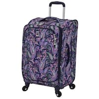 London Fog Soho 21-inch Expandable Carry-On Spinner Suitcase