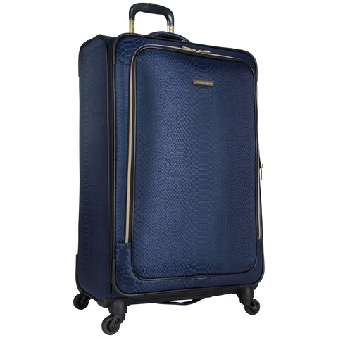 Aimee Kestenberg Parker 28-inch Lightweight Jacquard Expandable Spinner Upright Suitcase