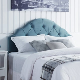 Link to Silver Orchid Goudal Arched Headboard Similar Items in Bedroom Furniture
