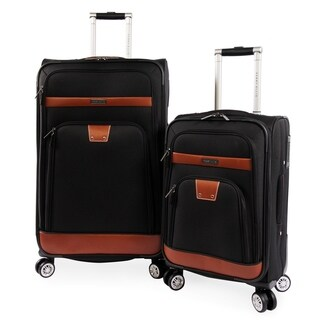 Perry Ellis Premise 2-piece Expandable Spinner Luggage Set
