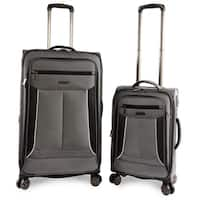 Perry Ellis Viceroy 2-pc Spinner Expandable Luggage Set