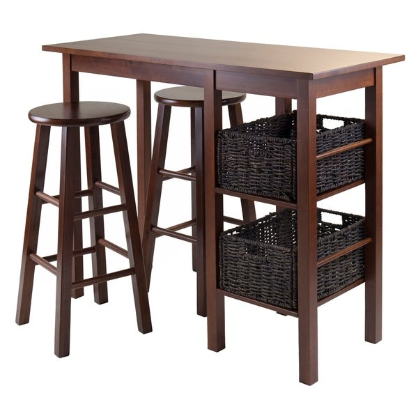 Egan 5pc Breakfast Table with 2 Baskets and 2 Stools. Opens flyout.